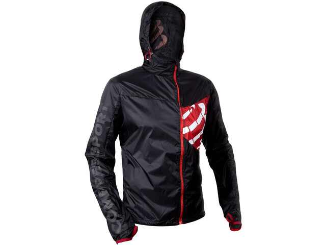 Compressport Hurricane Waterproof 10/10 Veste, black